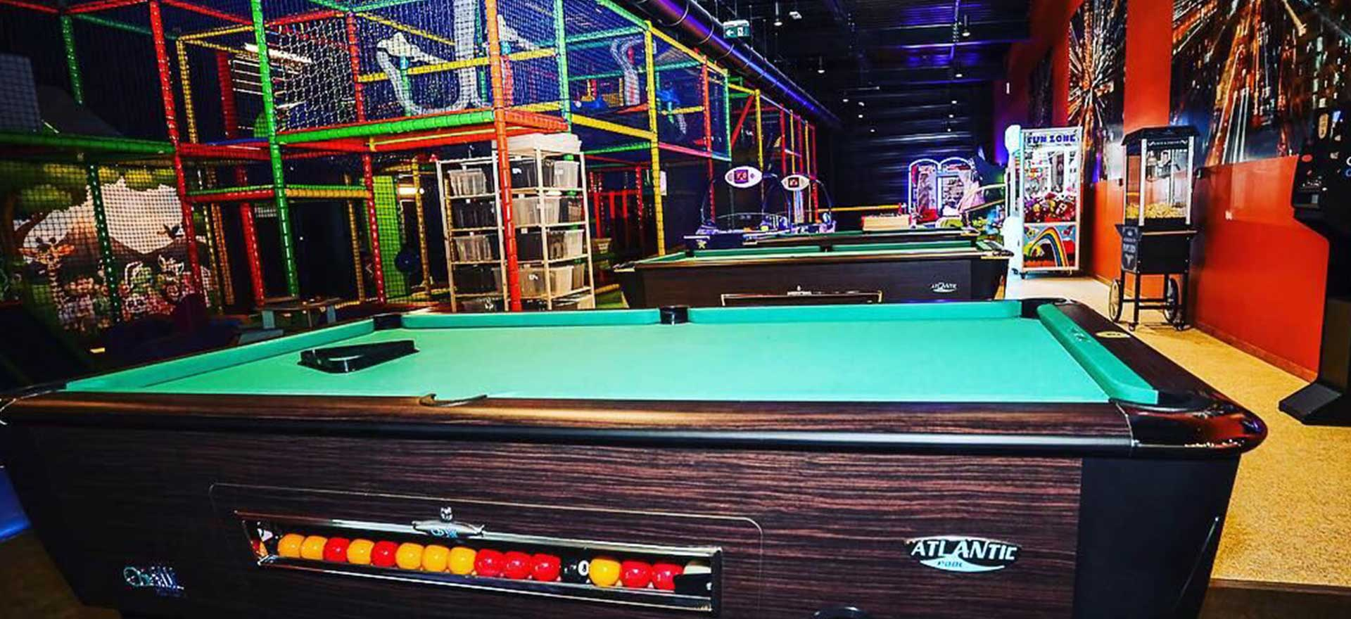 Billards, à côté du Kid's Fun