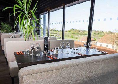 Salle de restaurant - Baie vitrée